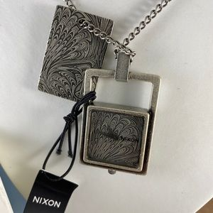 Nixon Fairfax Two Times a Lady Dog Tag Watch